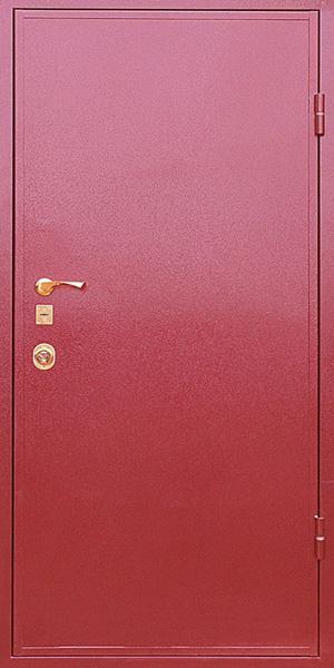цены на дверь в производственное здание металлическая с порошковым покрытием
