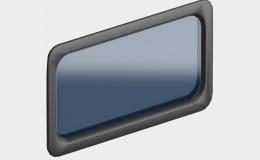 7 Окно акриловое 635х330