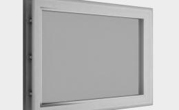 8 Окно акриловое 452х302 белое для панелей